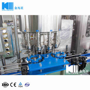 300ml 1000bph linearer Typ Flaschen-Wasser-füllende Zeile