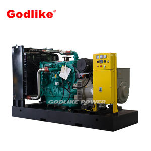 熱い販売375kVA/300kwのディーゼル発電機のCumminsの無声発電機