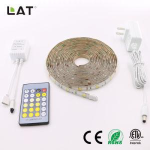 DC12V IP65二重CCT SMD5025 5m WwおよびCw 30LEDs適用範囲が広いLEDの滑走路端燈