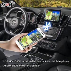 Navegador GPS Android para Benz Ntg5.0 Glc/Cla/Gle com WiFi Mirrorlink Youtube Facebook navegação online...