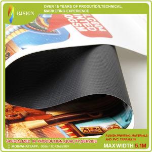 広告のための工場価格のBlockoutのカーテンPVC旗の印刷材料