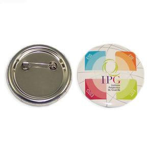 Heißer verkaufenkundenspezifischer Plastik, zum Braut-Zinn-Tasten-Abzeichen mit Drucken-Firmenzeichen (031) zu sein