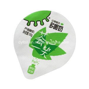 Impressão e relevos Iogurte Cup Tampas