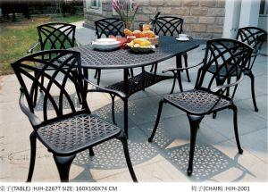 Mobiliário de Jardim mobiliário em alumínio fundido com mobiliário de exterior