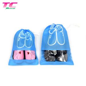 Reciclable no tejido de Viajes Mayorista Chaussure Sac Viajes promocionales bolsas Zapata