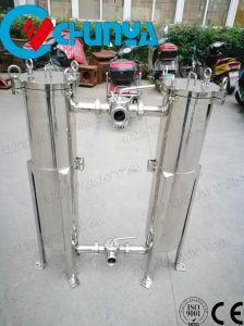 Multi filtro a sacco del duplex dell'acciaio inossidabile della fase per il trattamento delle acque