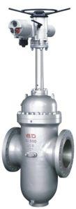 API6d Ce сертифицированных пневматический управляющий клапан запорный клапан двухстворчатый клапан