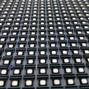 P6 étanche extérieur Affichage LED avec boîtier en aluminium moulé sous pression