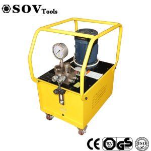 100L de capacidad de aceite hidráulico de la estación de bomba eléctrica para el gato hidráulico de doble acción Sov barras de acero inoxidable 750