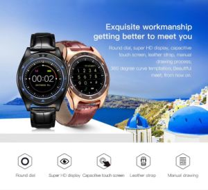 Nuevo Tq920 la frecuencia cardiaca de la presión sanguínea de muñeca Reloj Bluetooth resistente al agua Reloj inteligente