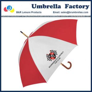 Buon bianco promozionale dell'ombrello con il marchio 24