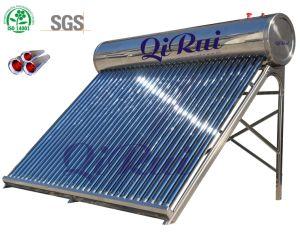 Inoxのセリウムの証明の真空管の太陽給湯装置