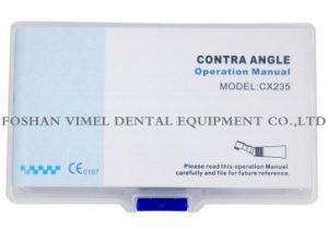 歯科90º 交換は角度に対する10:1の減少のEndodontic処置を回す