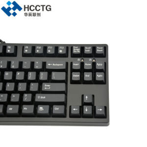 MX della ciliegia nero/blu/colore rosso/tastiera meccanica Backlit di gioco di RGB collegata Brown (HGK87)
