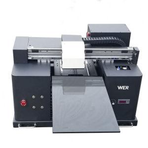De pequeño tamaño A3 Wer-E1080 impresora UV para impresión en caso de teléfono