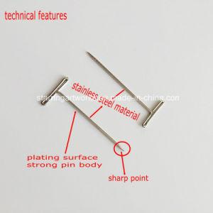 Il blocco del lavoro a maglia lavora il Pin diritto capo dell'acciaio inossidabile T di 38mm