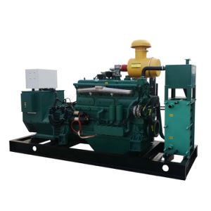 Gerador de energia Potência 120kw Biogás do Conjunto do Gerador