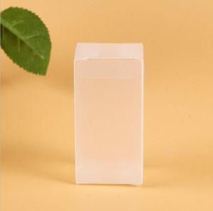 PVC transparent Boîte de rangement en plastique de pliage