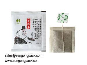 Papel de filtro de C18 un té de manzanilla Precio máquina de llenado del sinfín