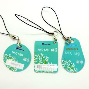CYMK imprimindo a RFID MIFARE Classic 1K PVC etiqueta da chave