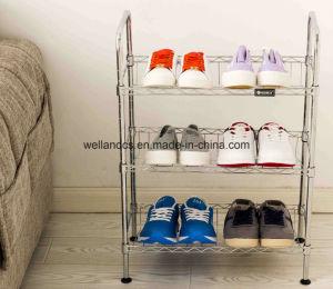 Muebles de hogar el uso general y de apariencia moderna Metal Estantería Zapata