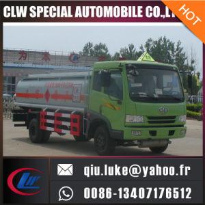 FAW Inox Alumínio Alloy Gasolina Carregando Caminhão-tanque de óleo combustível para venda
