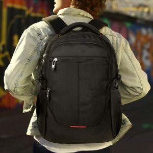Mochila Laptop Aplicar 15.6 polegadas Computador estudante universitária Bookbag