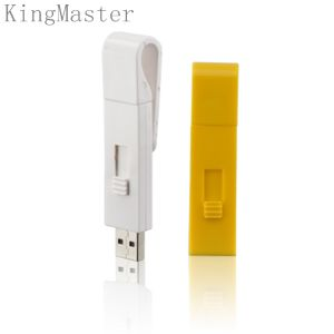 Kingmaster пластиковую карту USB флэш-накопителей USB с задней панели