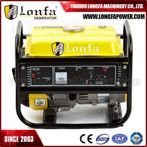 Promotion 1kVA/1kw/1.0KW 220V refroidis par air de l'essence de groupe électrogène de puissance
