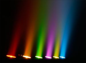 Het Licht van de binnen Hoge LEIDENE van het Pixel van de Macht 6in1 Staaf van de Was