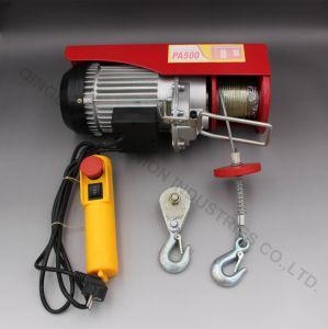고품질 수준 소형 전기 PA 호이스트 철사 밧줄 호이스트 체인 호이스트
