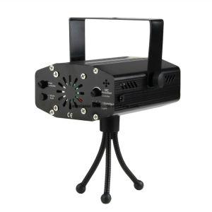 Mini Laser luces de discoteca 6 en 1 Efecto Luz de Navidad las luces de la etapa de control remoto