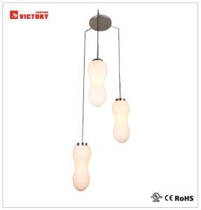 Hotel Cristal ahumado decorativa lámpara colgante con aprobación CE