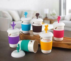 Taza de café de cerámica de viajes