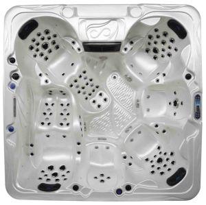 2018 Novos jatos 150 PCS Dois Lounges piscina spa banheira de hidromassagem