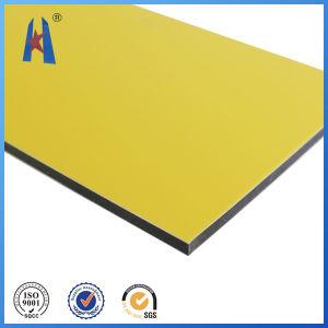 PVDF PE aluminium panneau en plastique sans couleur Fade-Away pendant 15 ans garantie