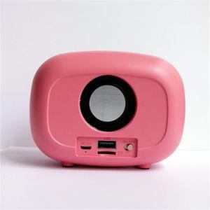Bluetooth 스피커 Subwoofer 고전적인 Retro 소형 휴대용 무선 다중 매체 라디오 U 디스크