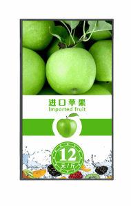 Un'alta luminosità 55 della scheda Android del menu dell'affissione a cristalli liquidi Digitahi di OS di pollice con il collegamento di WiFi 3G/4G