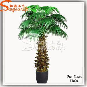 Bela decoração Graden planta artificial Washingtonia Palmeira