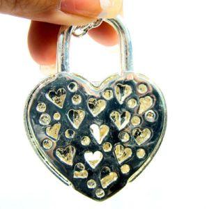 Il flash decorato dei regali dei bastoni del USB del cuore 32GB determina il lusso all'ingrosso