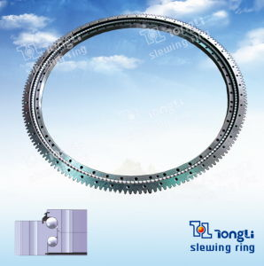Ökonomisches Doppeltes-Row Different Diameters Outer Gear Slewing Ring für Excavator mit ISO 9001