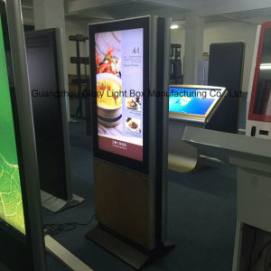 Due LED dell'interno laterale Backlit facendo pubblicità al video dell'affissione a cristalli liquidi di TFT
