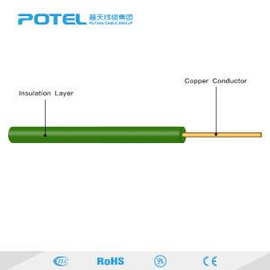 Com isolamento de PVC de núcleo único fio elétrico BV cabo de segurança único cabo condutor de cobre sólido