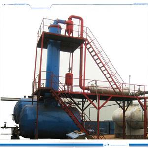 ディーゼル一部分を作る10 Tpdの原油の蒸留の精製所プラント