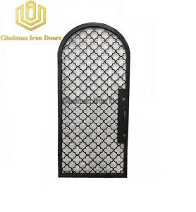 L'aluminium porte d'entrée unique Porte haute sécurité