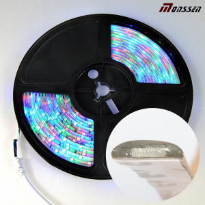 IP65 Resina DC12V impermeable de la cinta 3528 RGB LED