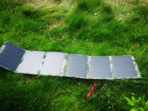 La energía solar portátil para iPad Cargador de Banco de potencia el teléfono móvil Bolsa Cargador solar
