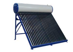Aquecedor de água solar de baixa pressão (tubo etc / aço inoxidável)