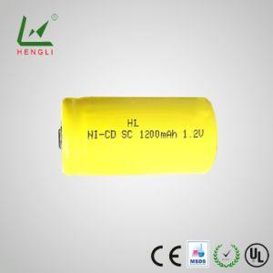 Высокое качество Ni-CD SC 1200Мач аккумулятор 1,2 В