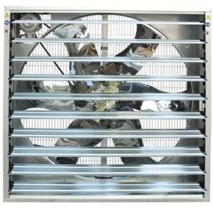 O ventilador para frangos de corte House